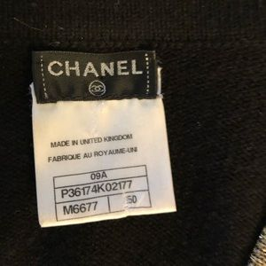 CHANEL Sweaters - Chanel cashmere cardigan size 50